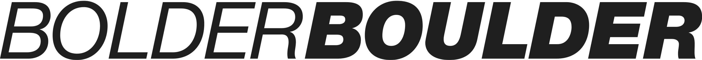 BOLDERBoulder